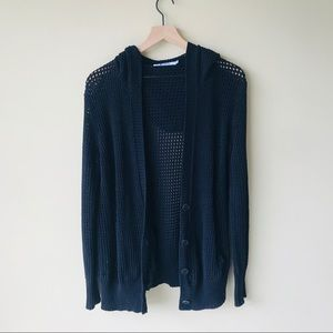 Alexander Wang open knit cardigan